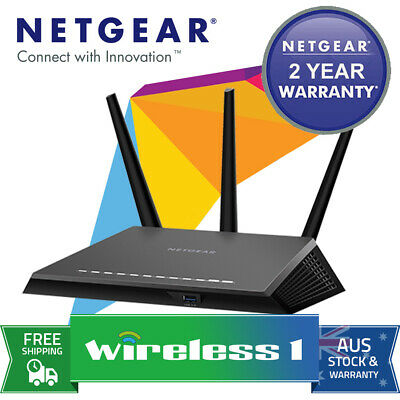 Netgear R7000 Wireless AC1900 Dual Band Gigabit Router