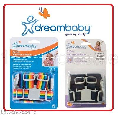 Dreambaby Safety Harness & Reins Walking Pram High Chair Baby Safety Dream Baby