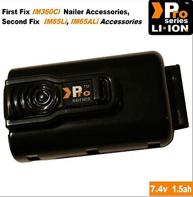 li-ion replacement battery for paslode 7.4v, 1.5ah im65l/im65Al/0018-7