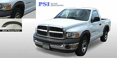 BLACK TEXTURED Rugged Fender Flares 02-08 RAM 1500; 03-09 Dodge RAM 2500 / 3500
