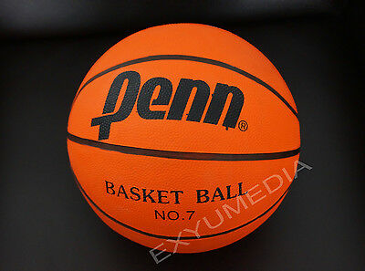 Penn Basketball Größe 7 Orange für Outdoor Indoor Streeat Game Official Size 7