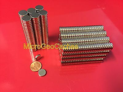 50 Large 1/2 x 1/8 inch Neodymium Disc Magnets Super Strong Rare Earth Magnet