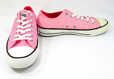 15f8c998c91d Converse Shoes Chuck Taylor Ox All Star Neon Pink Sneakers Men 6 Womens 8