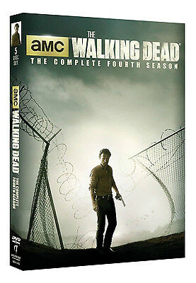 The Walking Dead: Complete Fourth Season 4 (DVD,2014, 5-Disc Set) NEW