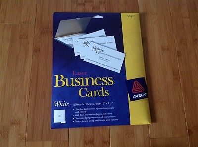 Avery business cards 5371