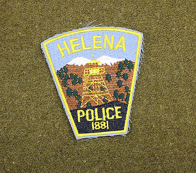 29622) Patch Helena Montana Police Department Sheriff Law Enforcement