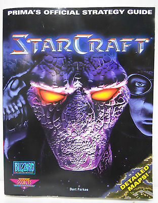 T312 StarCraft: Prima's Official Strategy Guide (1998, Paperback)-