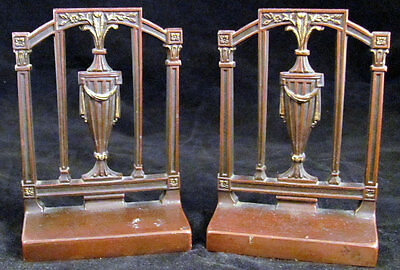 1920's Bradley & Hubbard Colonial-Revival Bookends