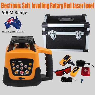 Self-leveling Laser Level Red Colour Beam 500m Range Auto Rotary Rotating
