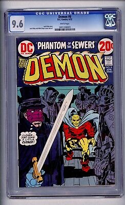 Cgc Demon. Kack Kirby  8 Nm+ 9.6 1973 White Pages