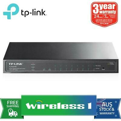Au Stock TP-Link TL-SG2210P 8-Port Gigabit Smart POE Switch with 2 Sfp Slots