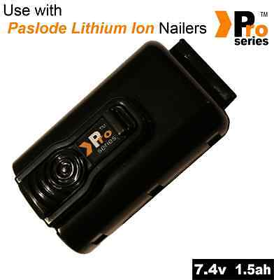 high quality lithium replacement battery for paslode 7.4v, 1.5ah im65l/im65Al