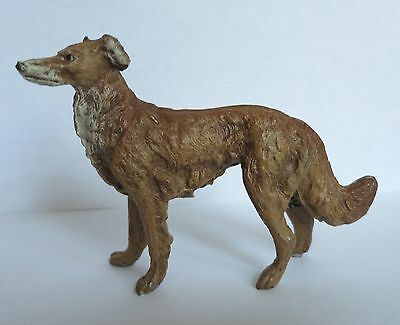 Borzoi Vintage Figurine Dog Marked Germany