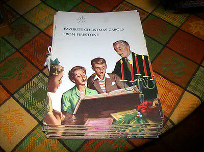 1959 Favorite Christmas Carols From Firestone Raymond E. Words and Sheet Music