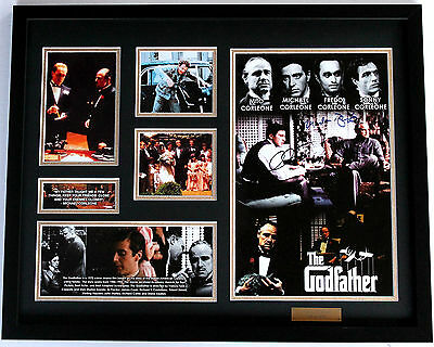 New The Godfather Signed Limited Edition Memorabilia