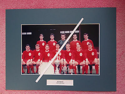 Reproduction Photo Of Liverpool 1960 Team