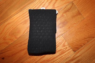 NWT Gymboree Purrfectly Fabulous Size 4 Black Cotton Blend Tights