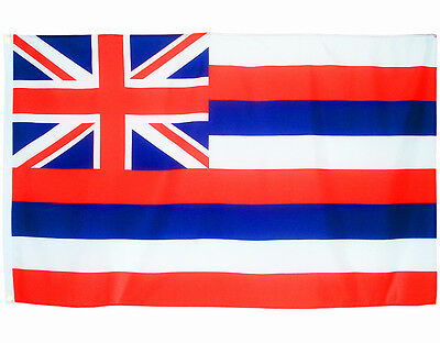 Fahne Hawaii Querformat 90 x 150 cm U.S.A. Hiss Flagge Bundesstaat USA