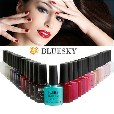 Esmalte permanente Bluesky  Gel Polish     -  OFERTA  -