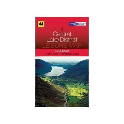 Leisure Map Central Lake District (AA Leisure Maps)