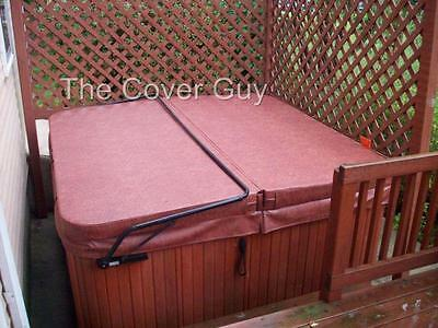 "5""-3"" Spa Hot Tub Cover upto 96"" 7 yr warranty Free Delivery from The Cover Guy"