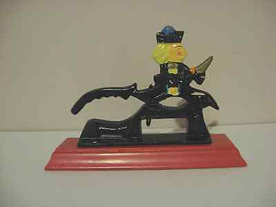 cast iron nutcrackers SOLDIER hand painted NEVER BEEN USED