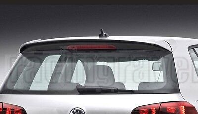 Volkswagen 09-12 Golf6 Golf 6 Vi Mk6 C Rear Wing Hatch Roof Spoiler
