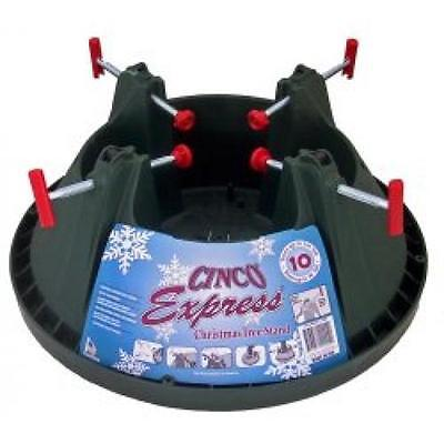 10 Ft Cinco Express Christmas Tree Stand Heavy Duty Xmas Water Reservoir