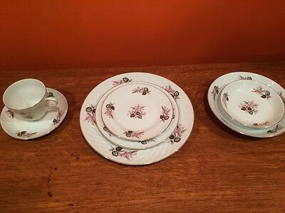 Seyei Fine China From Japan Brentwood Full Setting For 8 Plus Extras!