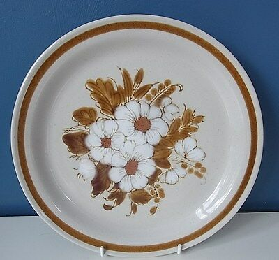 "SUPER MOUNTAIN WOOD COLLECTION FROM JAPAN ""DRIED FLOWERS"" DINNER PLATE 10.5"" VGC"