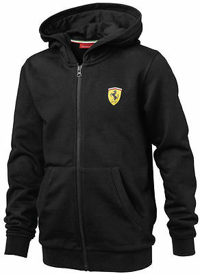 Ferrari Kids Hooded Sweatshirt S M L XL XXL Ages 2-16    RRP £52