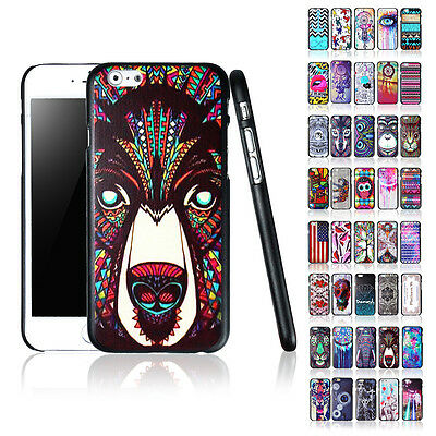 """40Pcs Lots Fashion Painted Various Pattern Case Cover For iPhone 6 Plus (5.5 """")"""