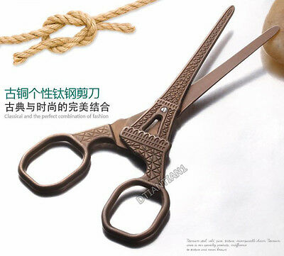 Vintage Style Antique Tower DIY Cross Stitch Sewing & Embroidery Scissors