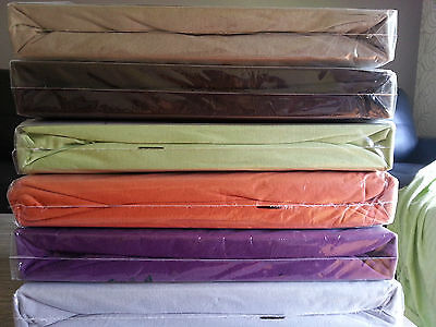 King Bed Fitted Sheet -Soft Jersey Knitted 100% cotton 13 colors