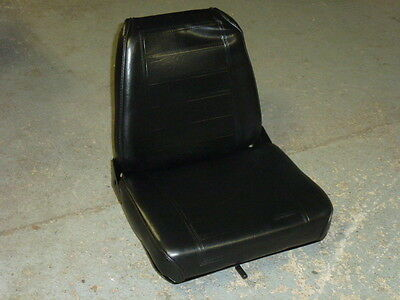 New! Universal High Back Adjustable Forklift Seat Assembly / Toyota, Mitsubishi