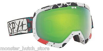 NEW IN BOX Spy PLATOON WILEY MILLER Snowboard Ski Goggle YELLOW/GREEN LENS RARE
