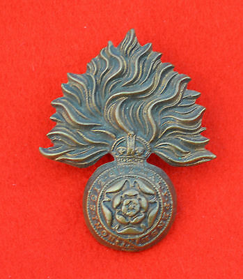 Royal Fusiliers Officer's Collar Badge