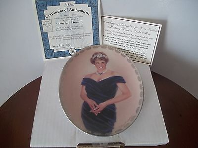 Princess Diana Plate 4th Issue Bradford Exchange