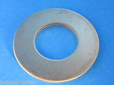 "BRASS #32 Washer for Hobart Meat Grinder Worm Auger w/ 3/4"" sq drive"