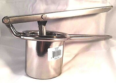 Deluxe Stainless Steel Potato Ricer / Mesher Juicer Press