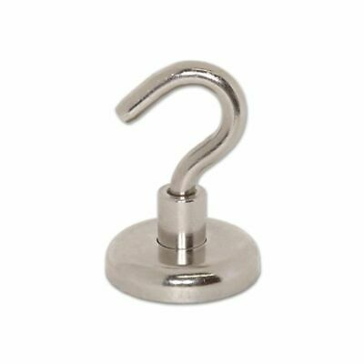 4x Magnetic Hooks 32mm 34kg | Heavy Duty | Hanging Hook Hanger Rare Earth Shop