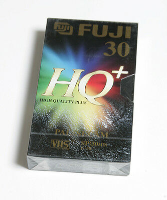 Fuji Vhs Fe 30 Hq+ High Quality Plus - Nuove Sigillate