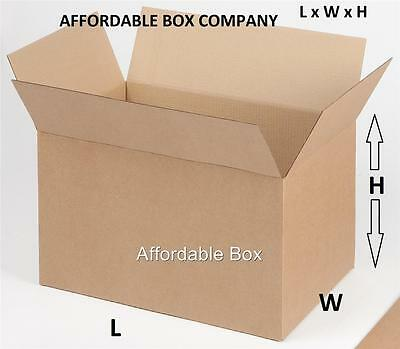 7 x 7 x 7 (7 cube) 25 corrugated shipping boxes (LOCAL PICKUP ONLY - NJ)
