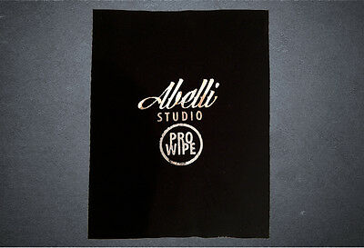Abelli Studio Pro Wipe Vinyl Record Cleaner Cleaning Micro Fibre Polishing Cloth