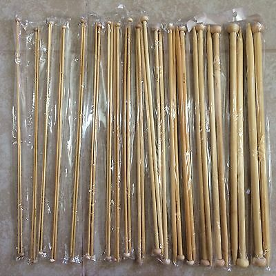 "Circular Knitting Needles Bamboo 48/"" Many Sizes Bleached ~122 cm Knitzy"