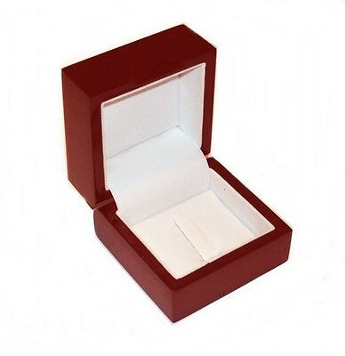 1 Cherry Wood Standard or Championship Ring Jewelry Display Gift Box