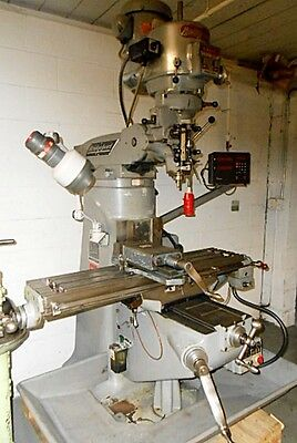 Bridgeport Series 1, 2 HP Ram Type Vertical Turret Milling Machine