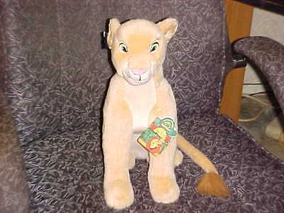 """15"""" Adult NALA Plush Toy From Disney The Lion King M/W/Tags By Applause"""