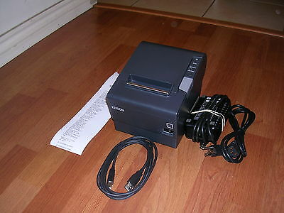 Epson Model M244A TM-T88V USB POS Thermal Receipt Printer - Free USB Cable