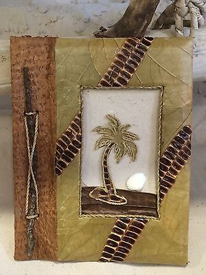 Photo Album, Diary Or Note Book Made Out Of Natural Leaves